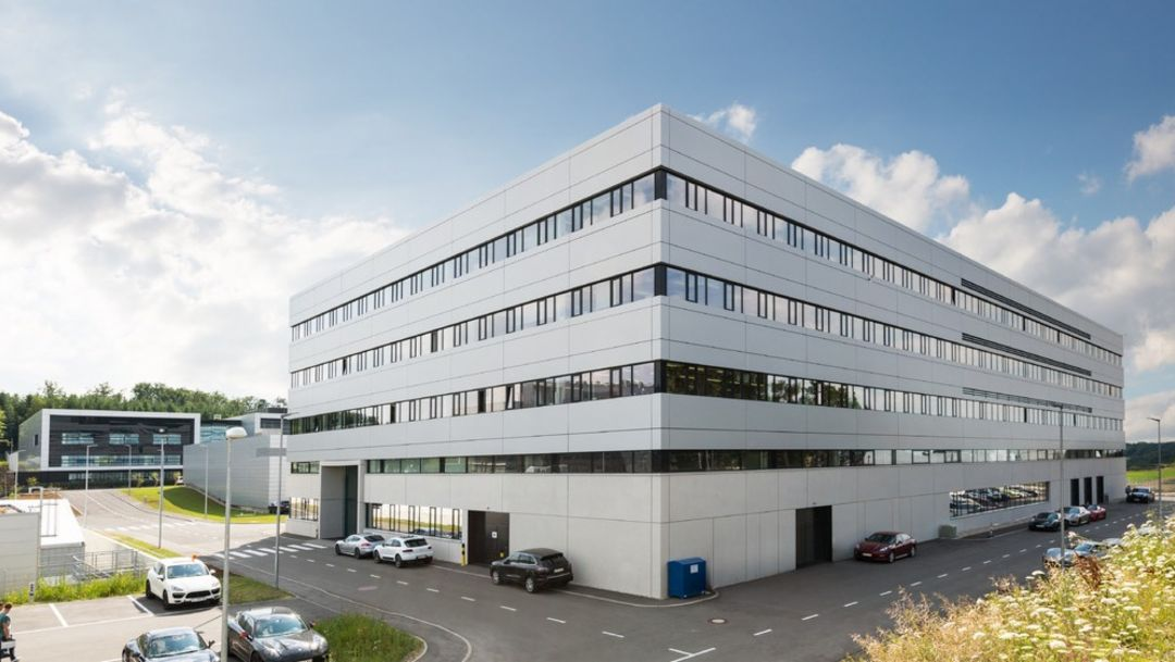 Electronics integration center, development center, Weissach, 2014, Porsche AG