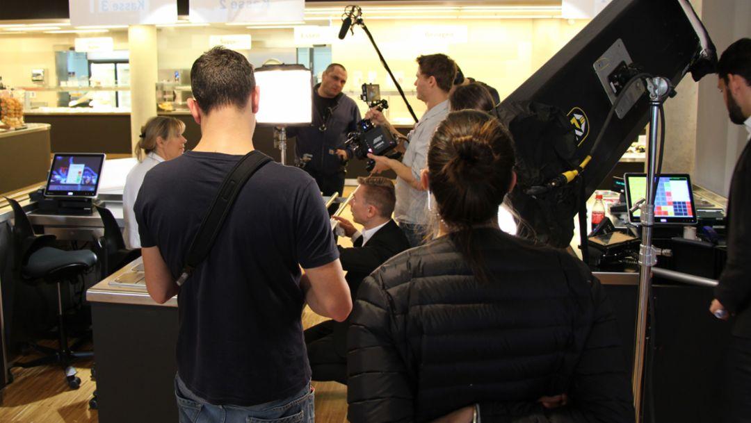 Videodreh, 2016, Porsche AG