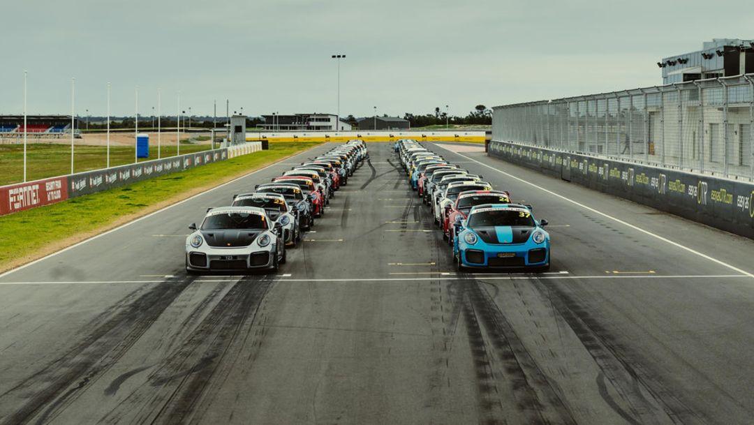 Reunión de Porsche 911 GT2 RS
