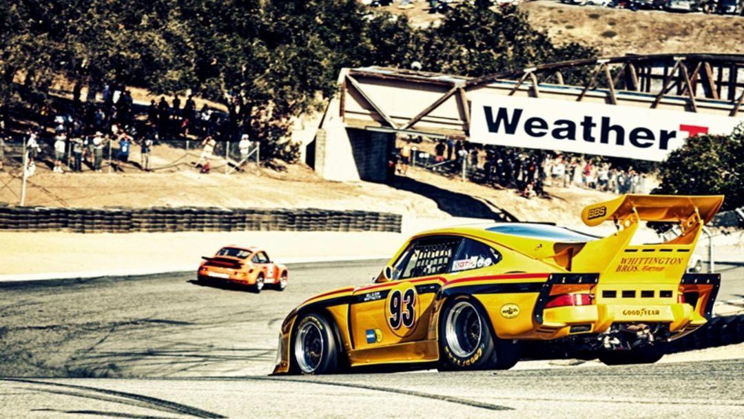 Porsche открывает фестиваль Rennsport Reunion VI