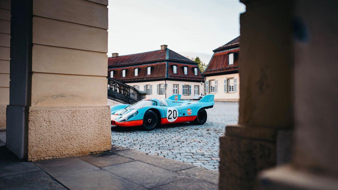 917 K, Castle Solitude, Stuttgart, 2018, Porsche AG