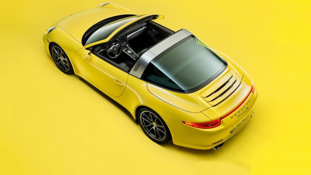 Porsche 911 Targa, 991 (seit 2014), Porsche AG