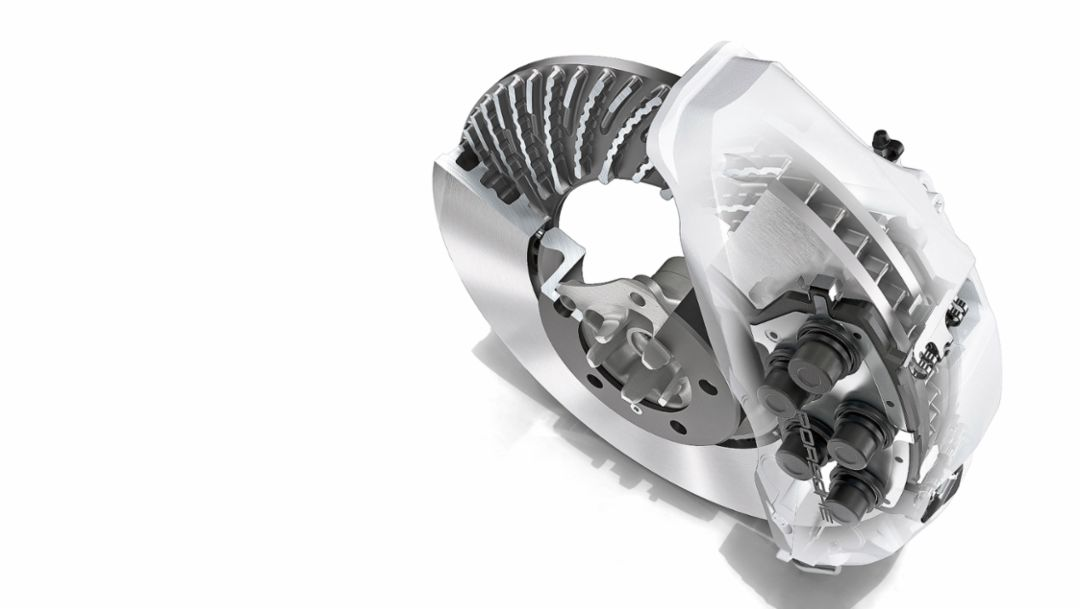 The Porsche Surface Coated Brake: Hard like Diamond