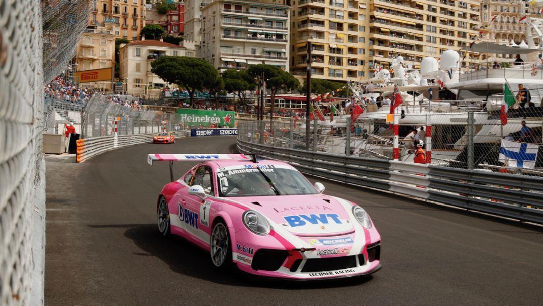911 GT3 Cup, Porsche Mobil 1 Supercup, Monte Carlo, Rennen, 2018, Porsche AG