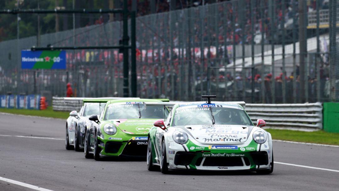 911 GT3 Cup, Rennen, Porsche Mobil 1 Supercup, Monza, 2018, Porsche AG