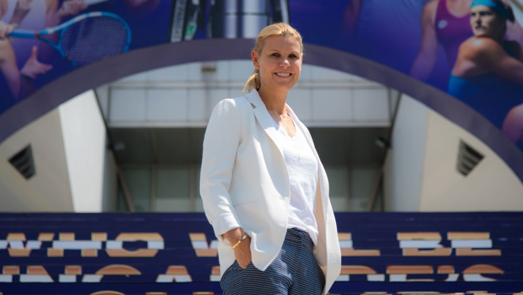 "Former Tennis-pro Anke Huber: ""Angie is a fighter"""