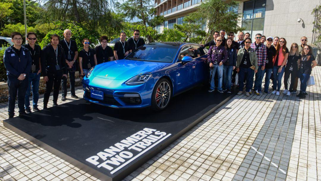 Panamera Turbo, Two Trails Media Drive, Taiwan, 2017, Porsche AG