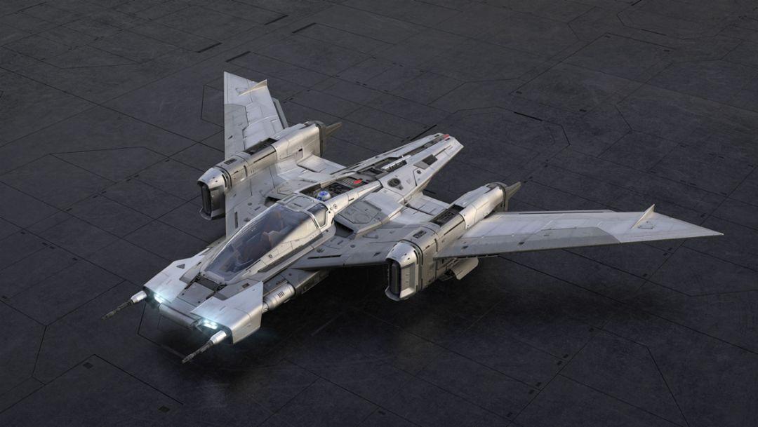 Porsche и Lucasfilm представляют дизайн звездного корабля