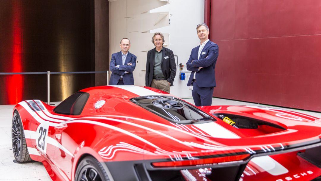 Tony Hatter (mid), 917 design study, 2019, Porsche AG