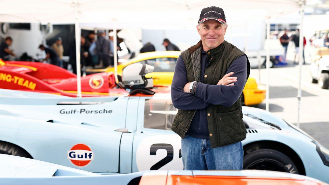 Bruce Canepa, Unternehmer, Rennsport Reunion VI, WeatherTech Raceway Laguna Seca, Kalifornien, 2018, Porsche AG