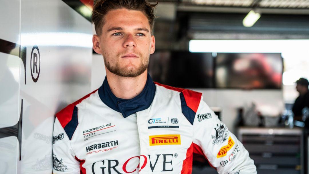 Brenton Grove to race EBM Porsche in GT World Challenge Asia