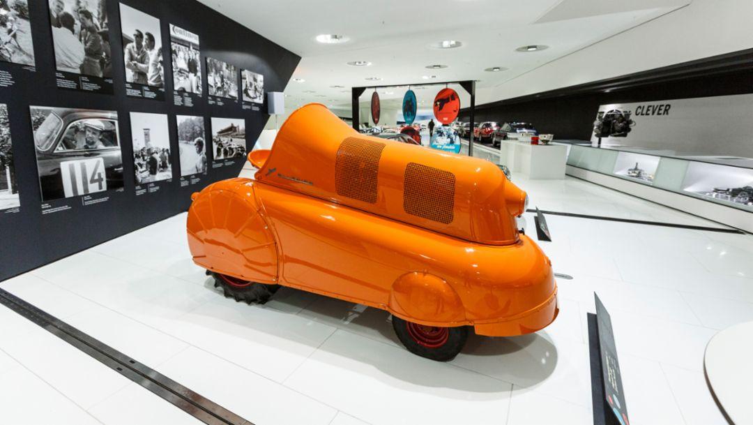 "Plantagenschlepper ""Allgaier P 312 – System Porsche"", Porsche Museum, 2015, Porsche AG"