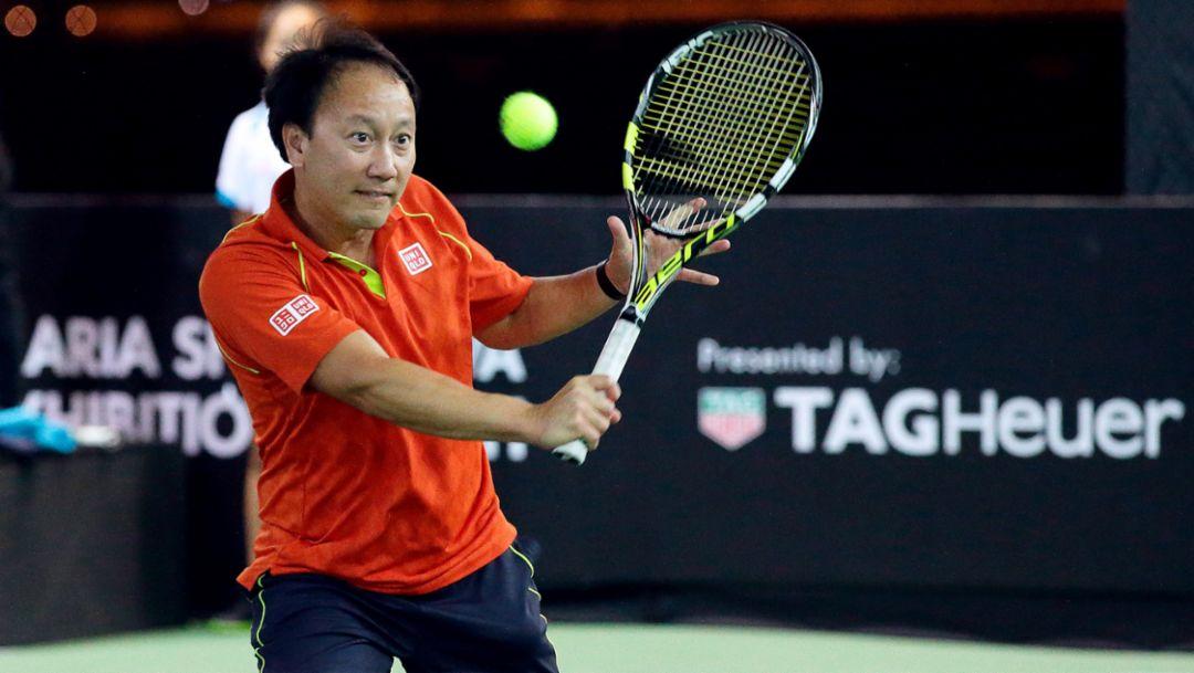 Michael Chang (USA), Tennisspieler, 2016, Porsche AG