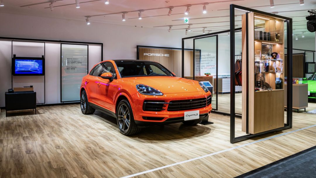 Porsche lanza Sales Pop-up, un formato flexible de ventas