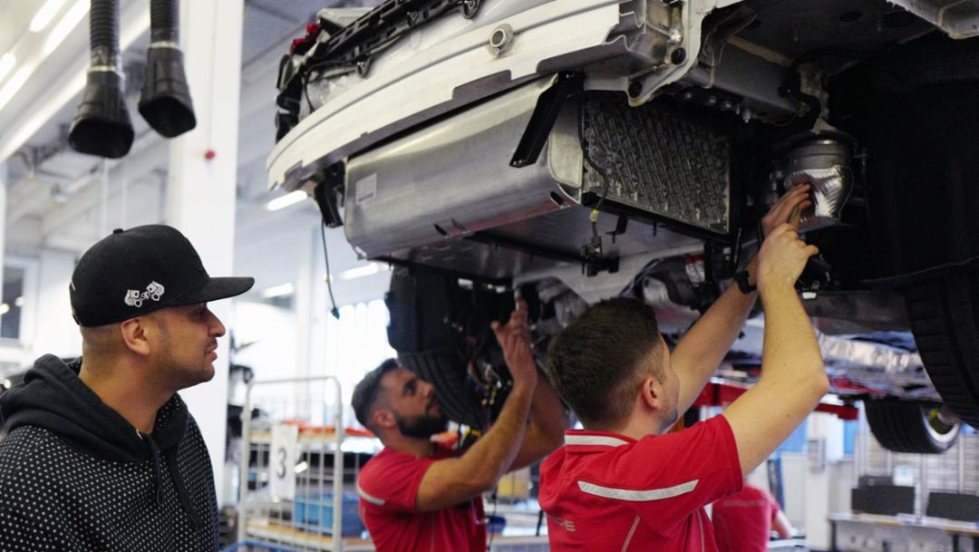 JP Performance besucht Porsche-Nachwuchs