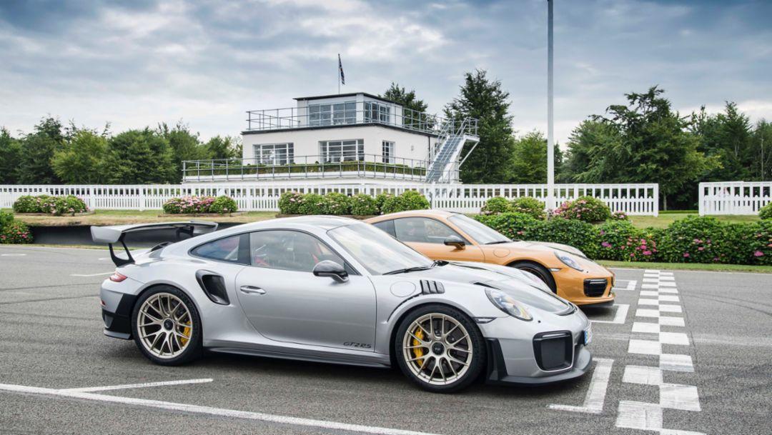 1,307 hp:两款非凡 911 全球首发古德伍德速度节