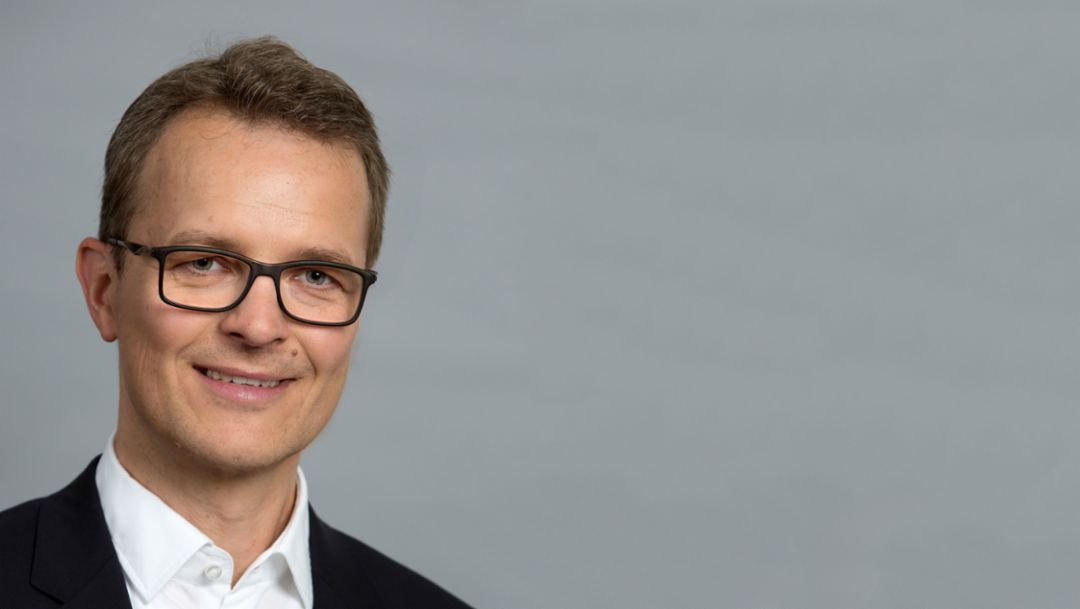 Kjell Gruner, Porsche-Marketingchef, 2017, Porsche AG