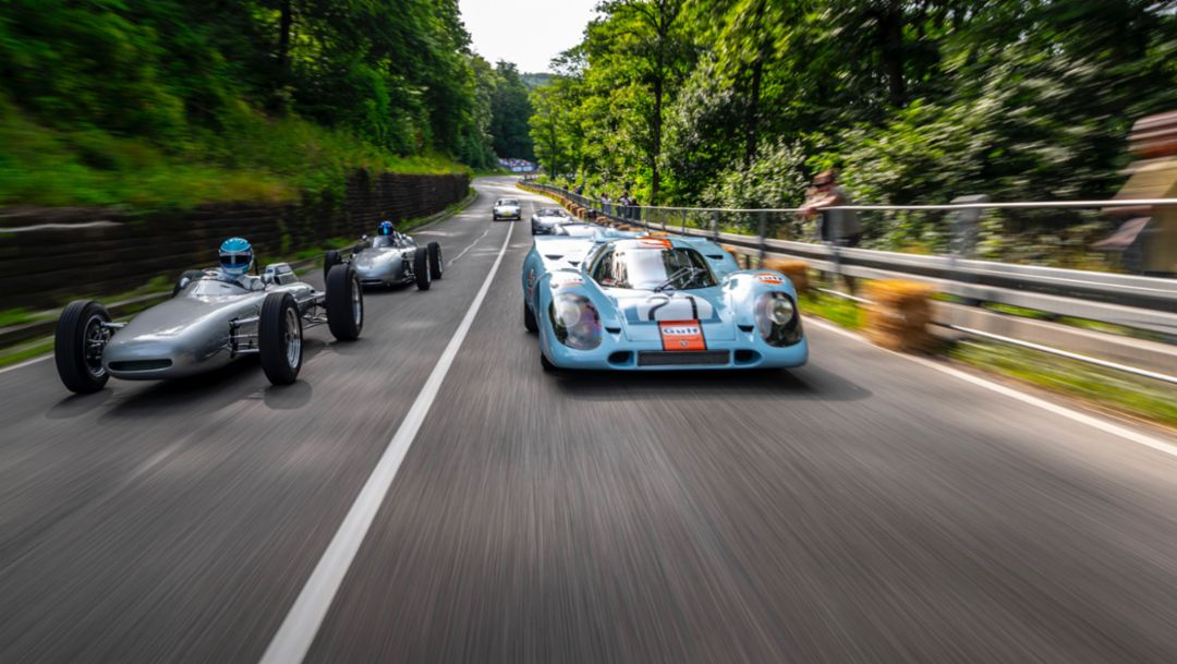 Porsche en el Solitude Revival 2019