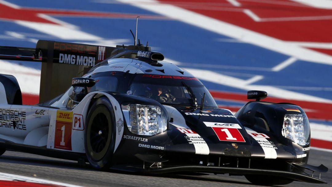 919 Hybrid, WEC, Qualifying, Austin, 2016, Porsche AG
