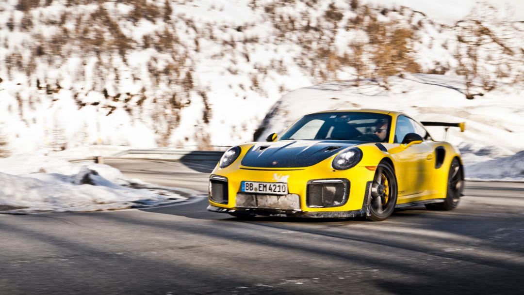 911 GT2 RS, Sankt Moritz, 2018, Porsche AG