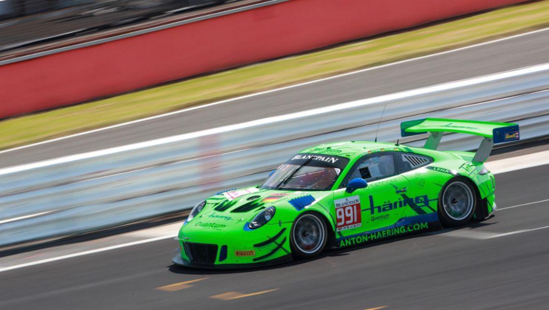 911 GT3 R, Herberth Motorsport, Silverstone, 2018, Porsche AG