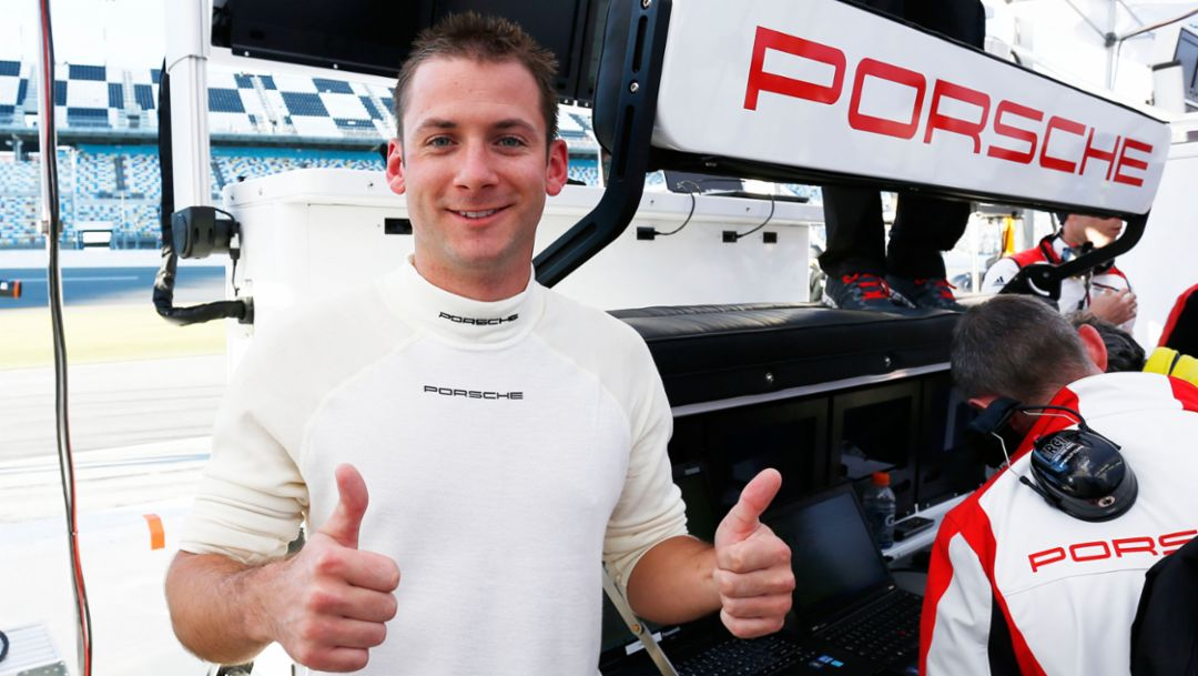 Nick Tandy, works driver Team Porsche North America, 2015, Porsche AG