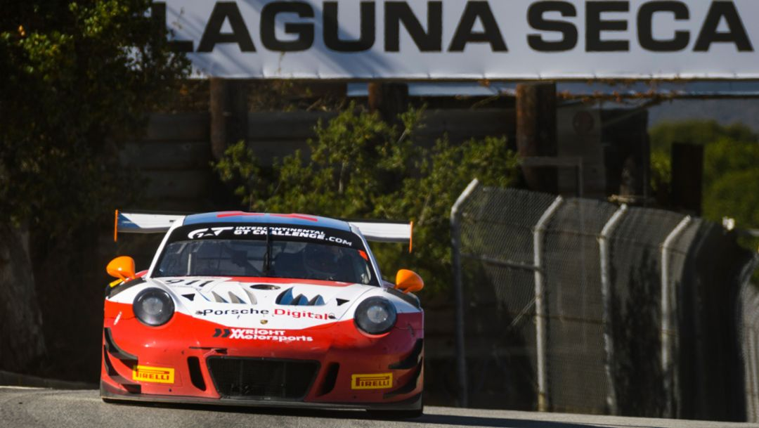 Fourth place for Porsche 911 GT3 R at the season finale