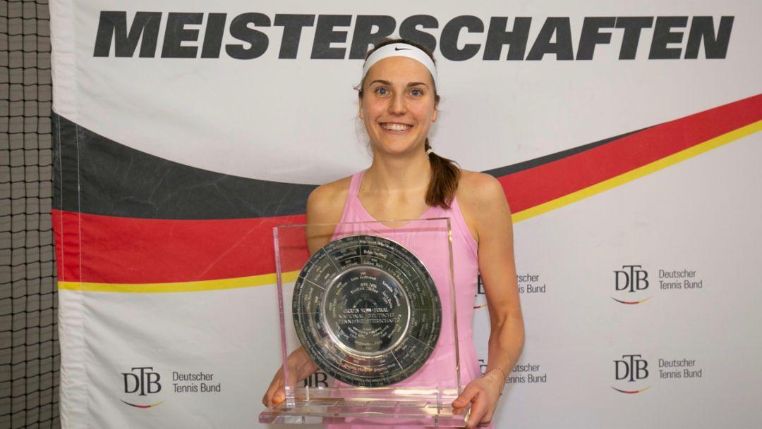 Tennis: Antonia Lottner zum zweiten Mal Deutsche Meisterin