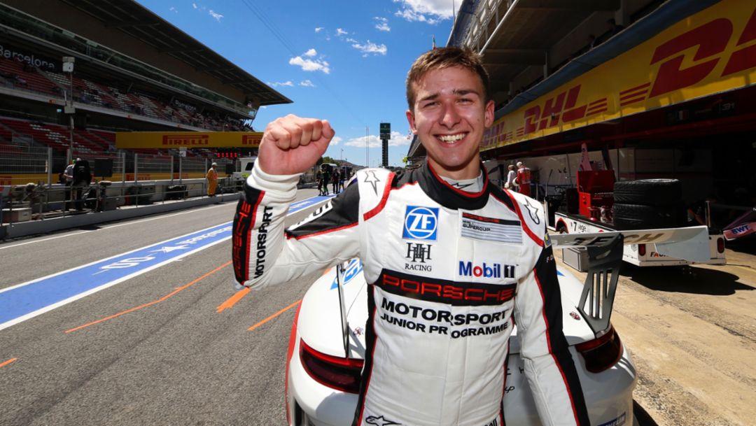Matt Campbell, Porsche Young Professional, 2017, Porsche AG