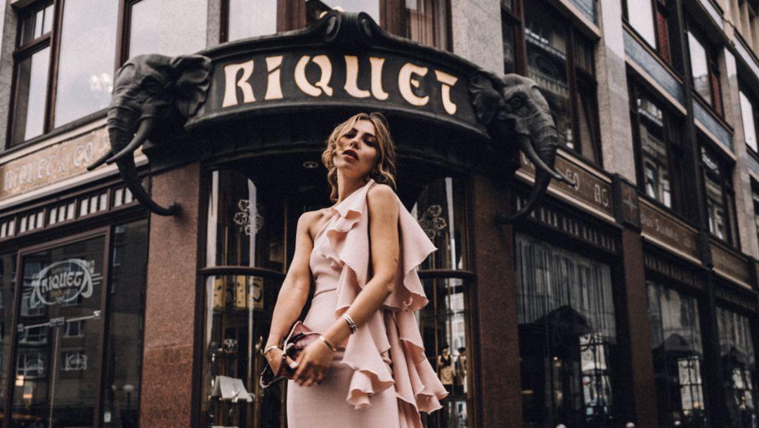 Masha Sedgwick, fashion blogger, 2018, Porsche AG