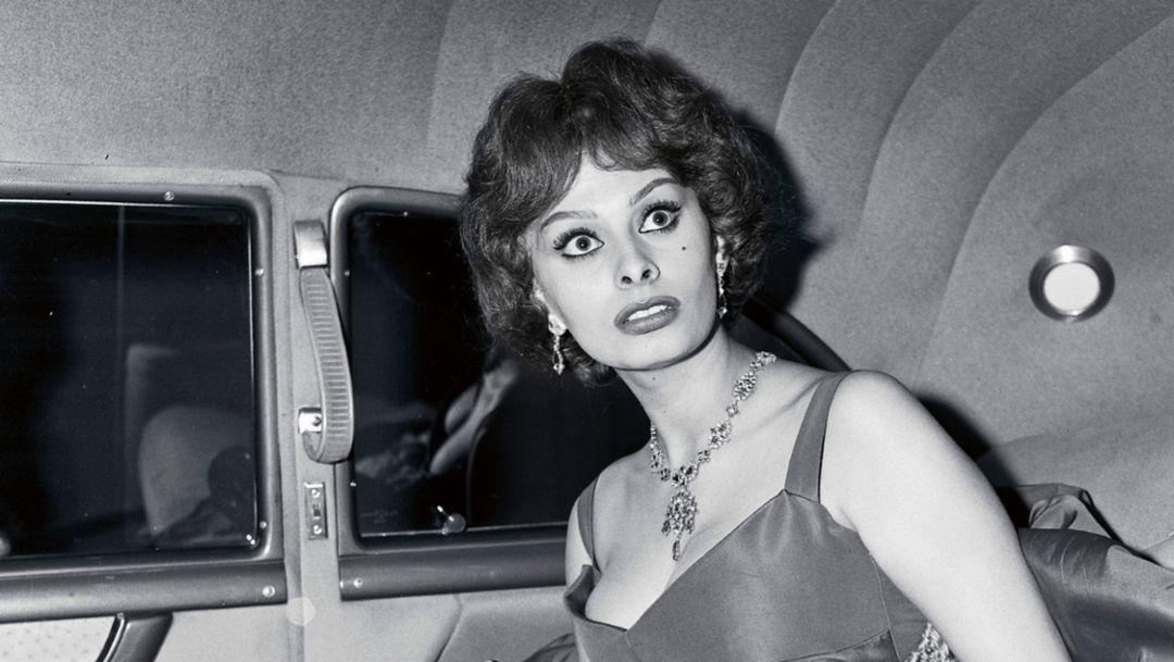 Sophia Loren, 1955, Porsche AG