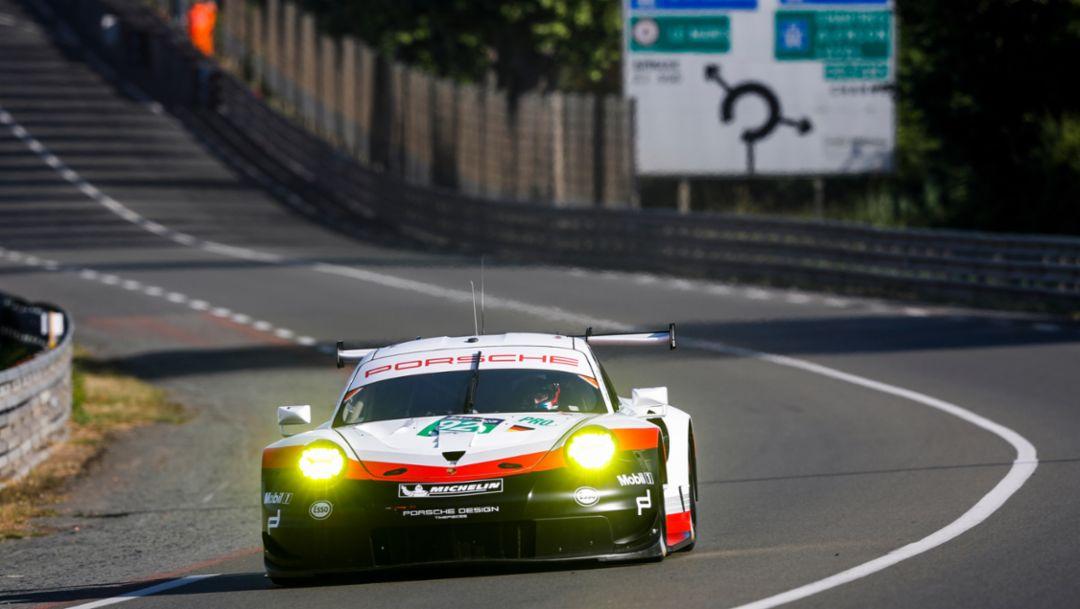 911 RSR, Pretest, Le Mans, 2017, Porsche AG