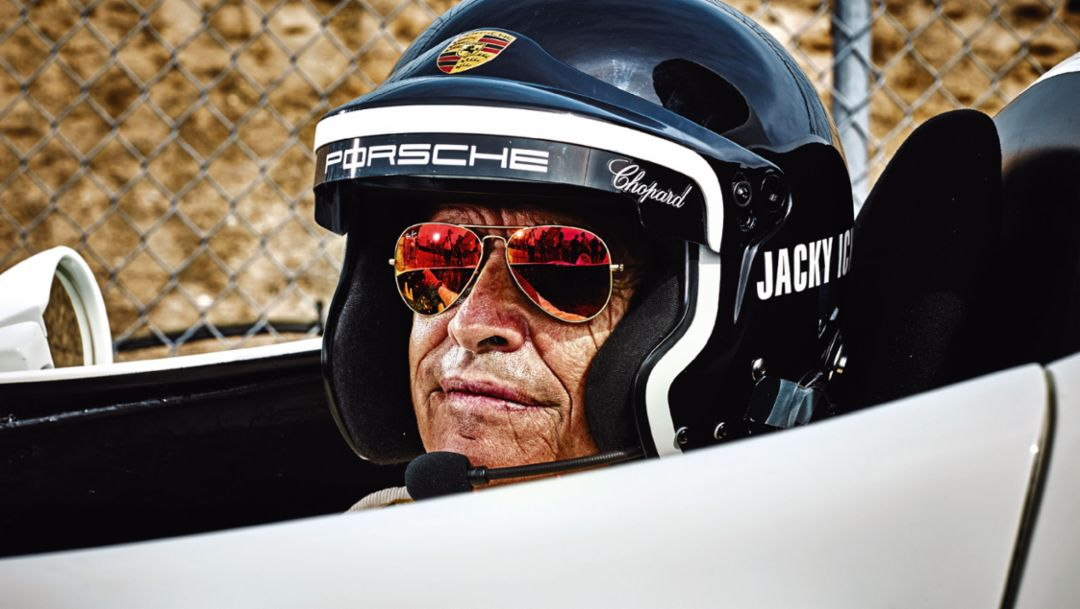 Jacky Ickx, Rennsport Reunion, Laguna Seca, 2015, Porsche AG