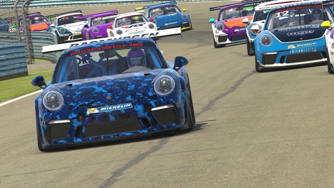 Primera gran copa monomarca virtual: La Porsche Esports Supercup