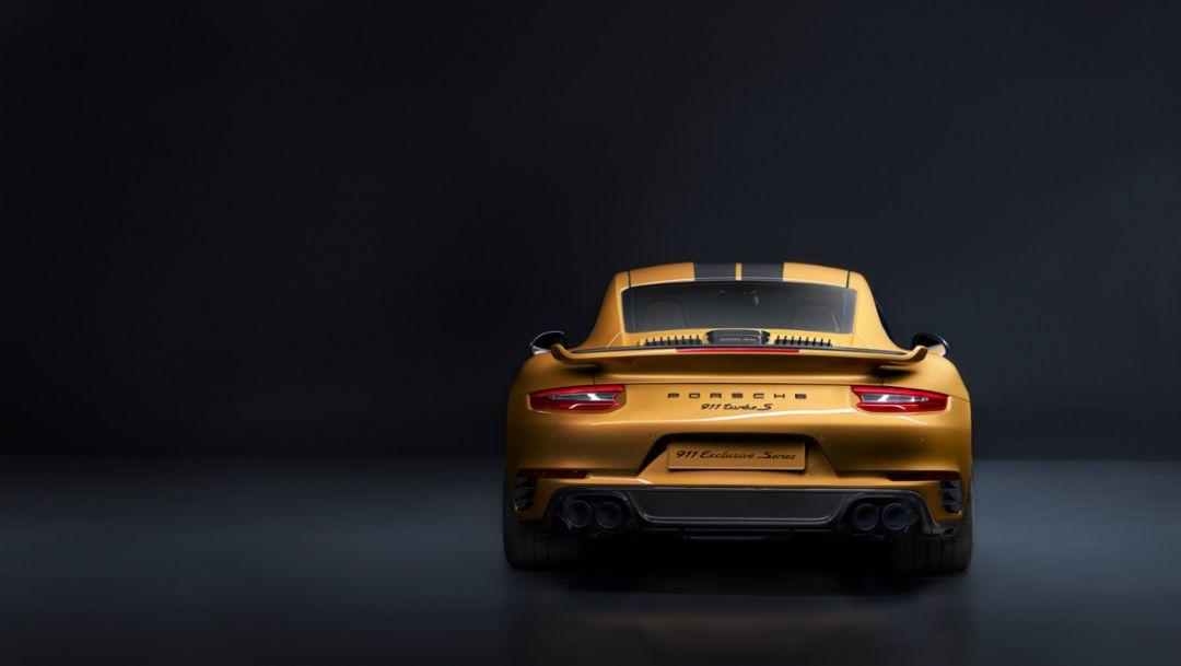 限量500台! 全球最 Unique 的 911 Turbo S Exclusive Series 开始预订