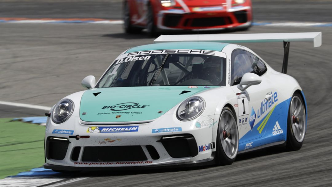 911 GT3 Cup, Porsche Carrera Cup Deutschland, Hockenheimring, 2017, Porsche AG