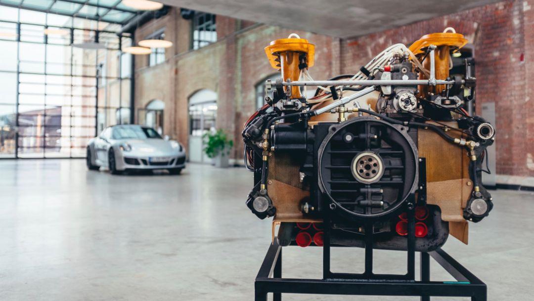 Oldtimer-Werkstatt Ulm, 2018, Porsche AG