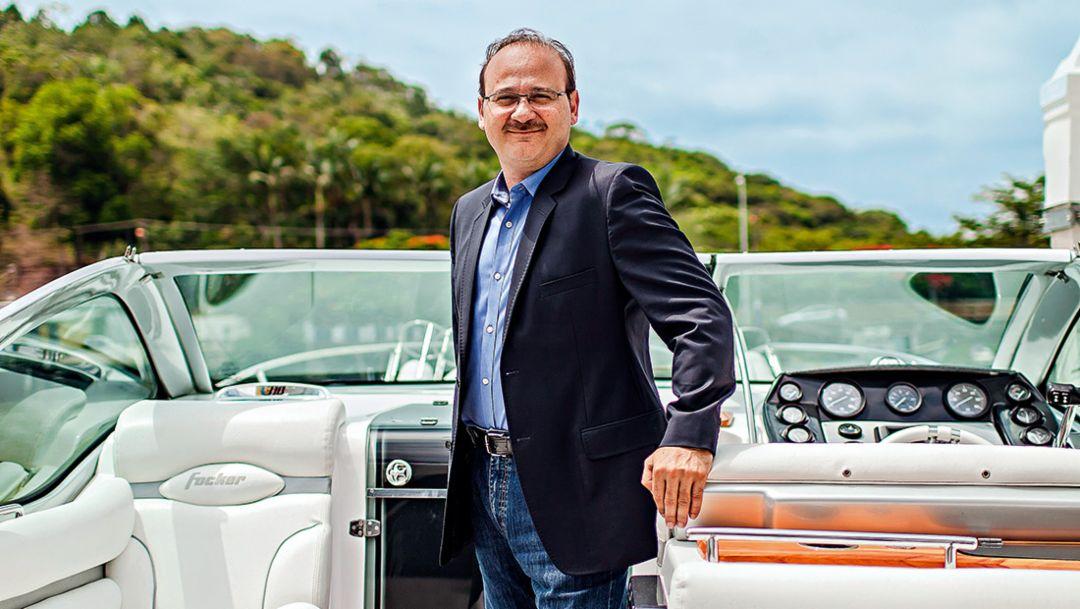 Márcio Ferreira, CEO von Fibrafort (Foto: Michel Teo Sin/Xame PMF Magazine /April Comunicacoes S/A)