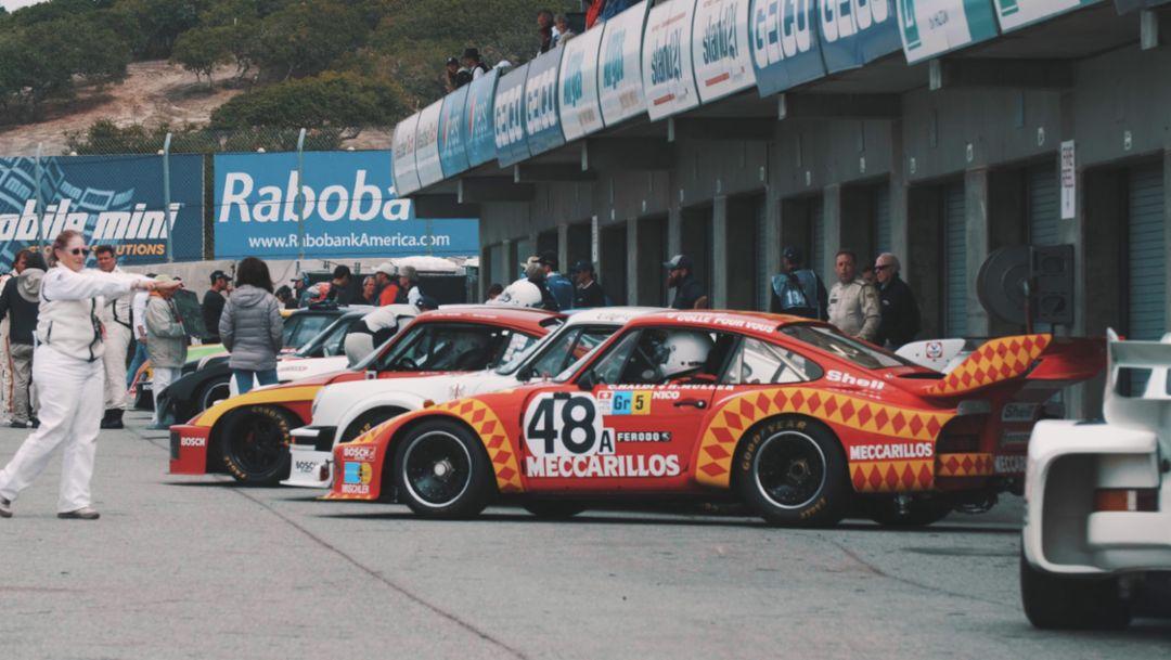 Porsche 935, Gunnar Racing, Rennsport Reunion VI, Weathertech Raceway Laguna Seca, 2018, Porsche AG