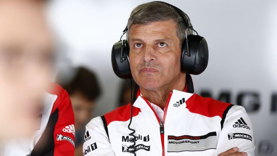 Fritz Enzinger, vice president LMP1, WEC, Fuji, Japan, 2014, Porsche AG
