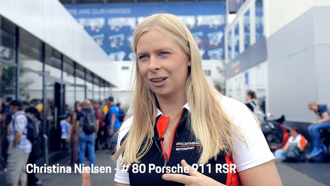 Talk with Christina Nielsen