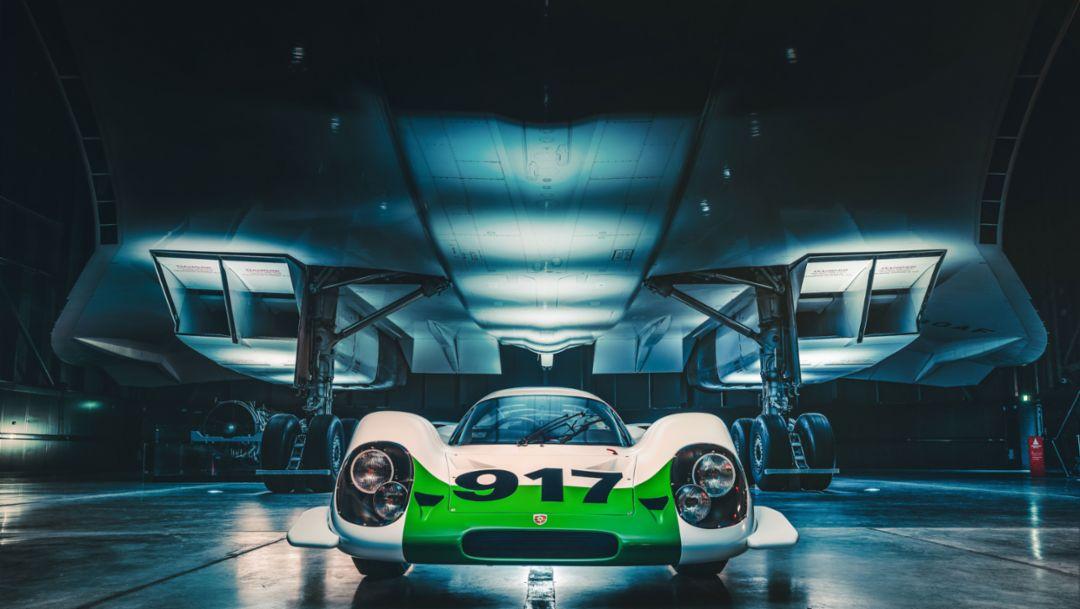 50 Jahre 917: Als Porsche auf die Concorde traf