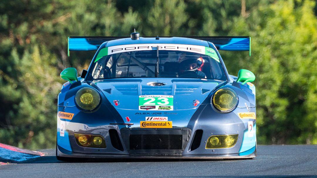 Porsche 911 GT3 R, Lime Rock Park, IMSA WeatherTech SportsCar Championship, 2016, Porsche AG