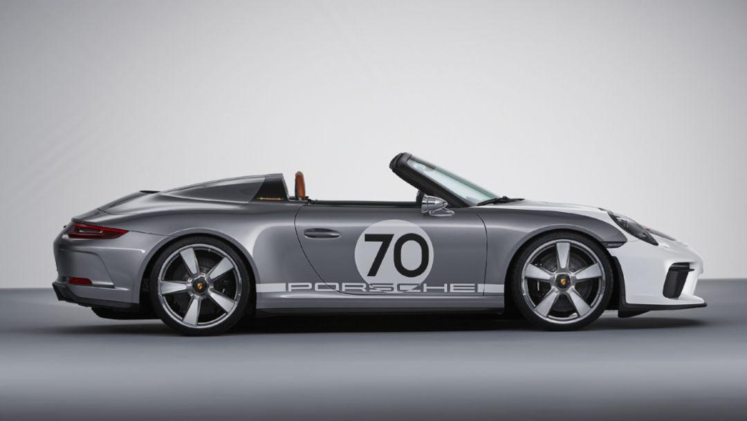 Концепт Porsche 911 Speedster: открытый, лаконичный, с мощностью свыше 500 л.с.