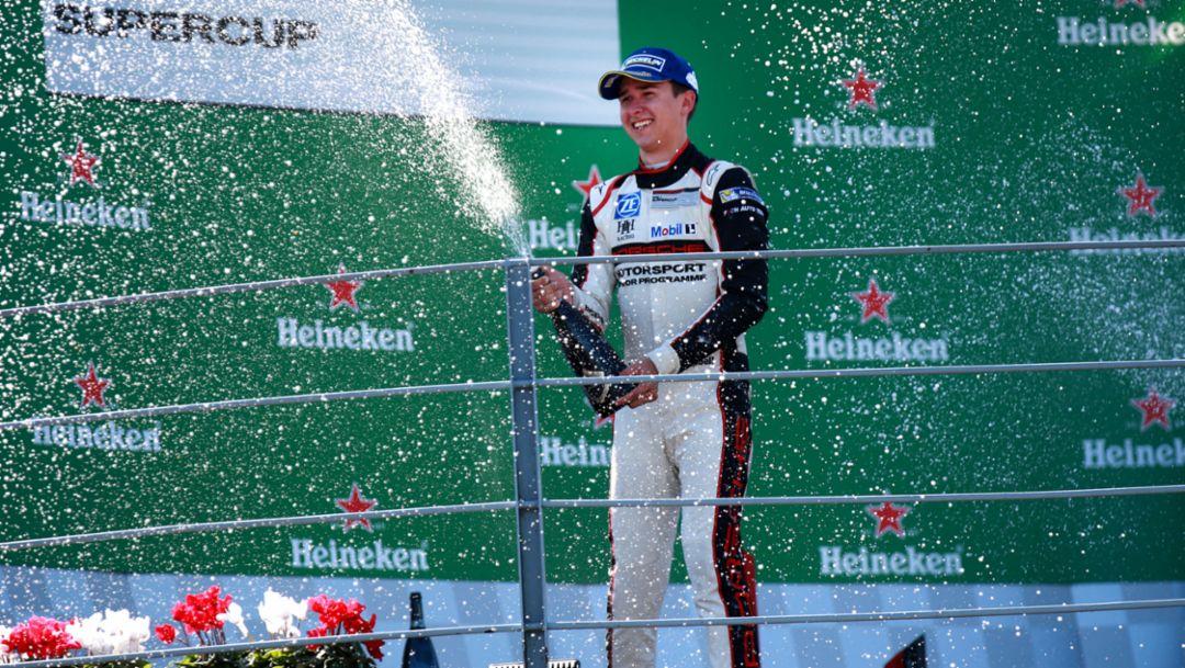 Matt Campbell, Porsche Mobil 1 Supercup, race 9, Monza, Italia, 2017, Porsche AG