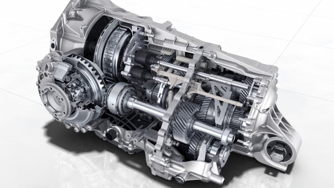 8-speed dual-clutch transmission, 2019, Porsche AG