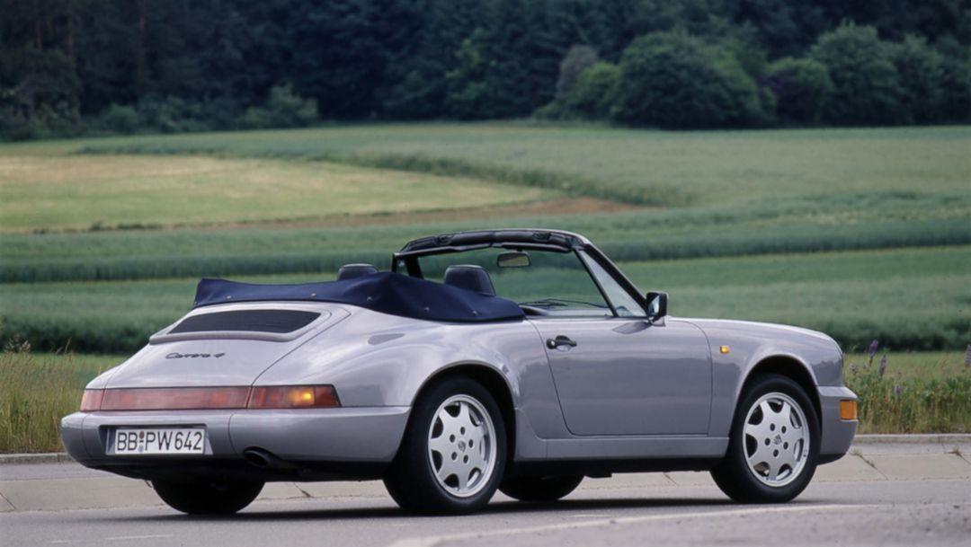 Серия 964: новый этап с этим 911
