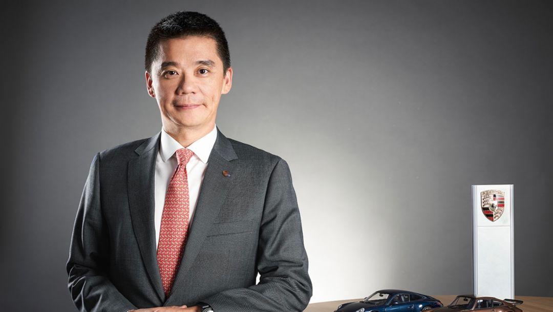 熊天池(Gary Shone)先生,保时捷中国客户关系管理副总裁