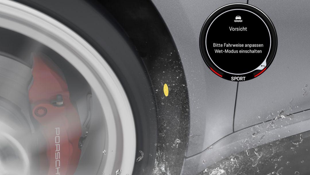 Porsche Wet Mode, 2019, Porsche AG