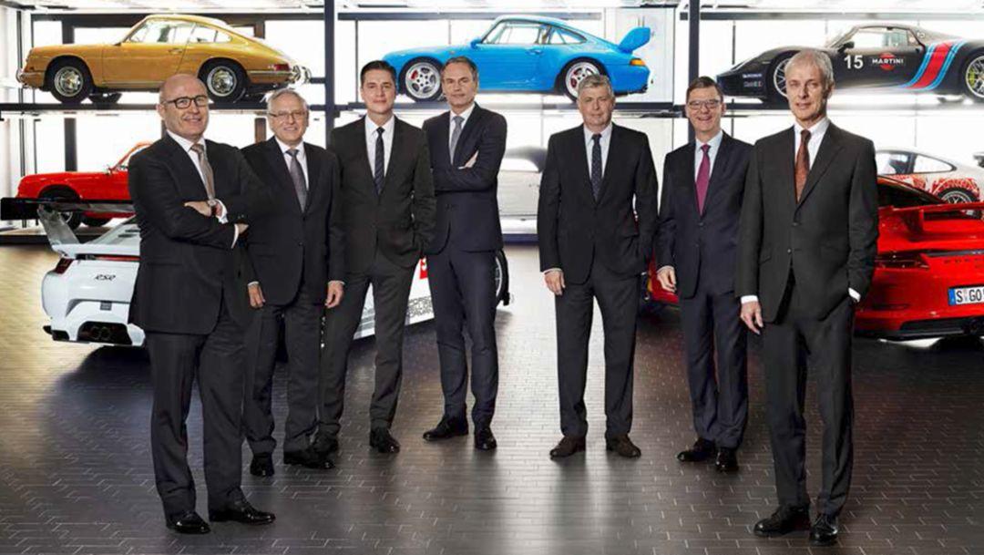 The Executive Board, 2015, Porsche AG